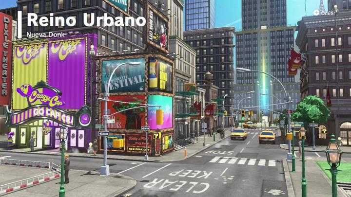 Reino Urbano Super Mario Odyssey