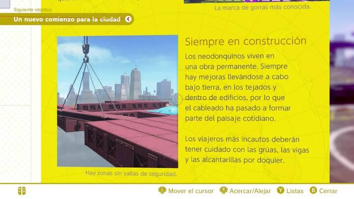 Siempre en construcción Reino Urbano Super Mario Odyssey
