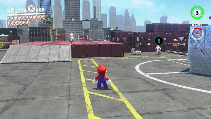 Energiluna 13 Reino Urbano Super Mario Odyssey