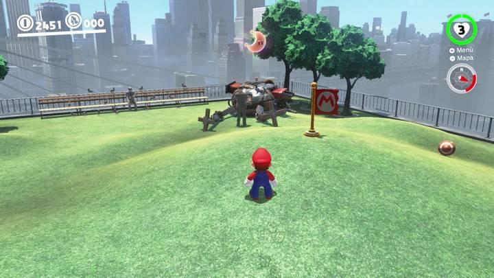 Energiluna 15 Reino Urbano Super Mario Odyssey