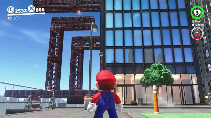 Energiluna 10 Reino Urbano Super Mario Odyssey