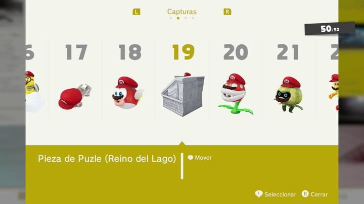 Pieza de Puzle - Super Mario Odyssey