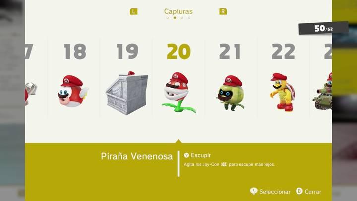 Piraña venenosa - Super Mario Odyssey