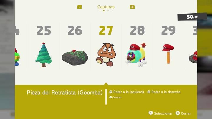 Pieza del Retratista - Super Mario Odyssey