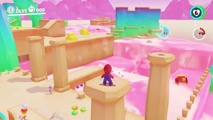 Energiluna 10 Reino de los Fogones Super Mario Odyssey