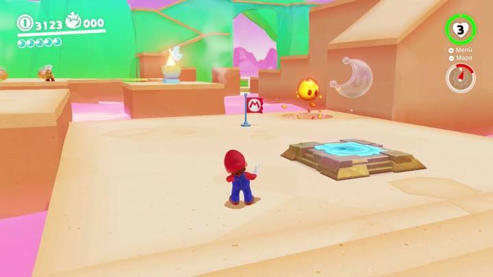 Energiluna 14 Reino de los Fogones Super Mario Odyssey