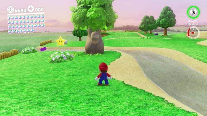 Energiluna 2 del Reino Champiñón Super Mario Odyssey
