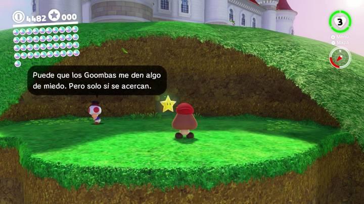 Energiluna 17 del Reino Champiñón Super Mario Odyssey