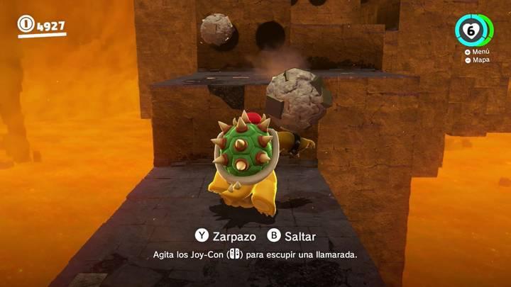 Energiluna 1 - Cara más oculta de la luna Super Mario Odyssey