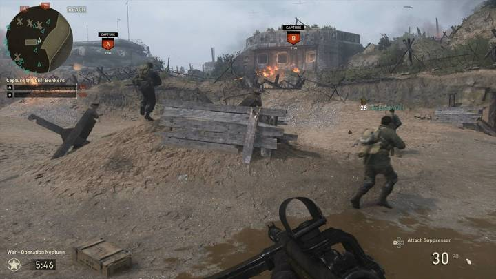 Call of Duty: WWII multijugador