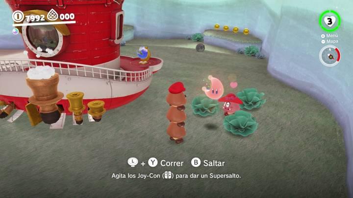 Energiluna 39 Reino del Lago Super Mario Odyssey