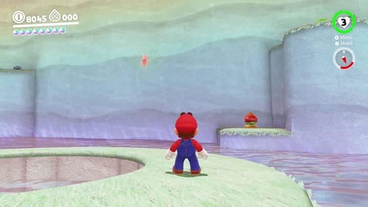 Energiluna 35 Reino del Lago Super Mario Odyssey