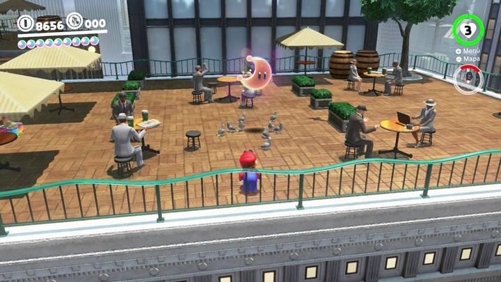 Energiluna 16 Reino Urbano Super Mario Odyssey