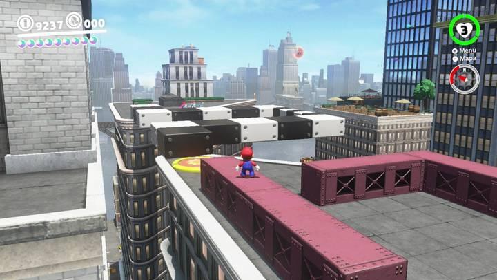 Energiluna 67 Reino Urbano Super Mario Odyssey