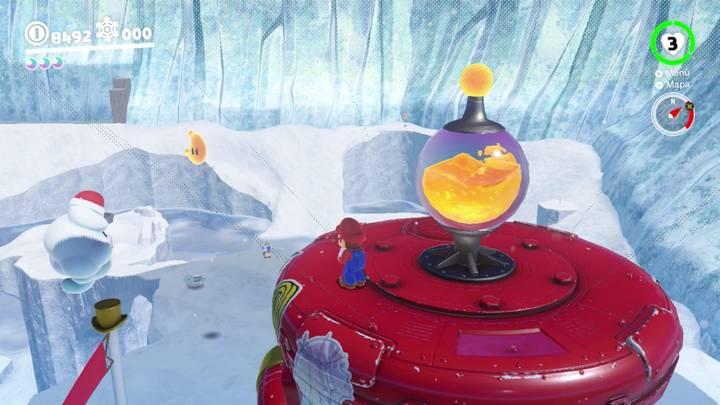 Energiluna 38 Reino del Hielo Super Mario Odyssey
