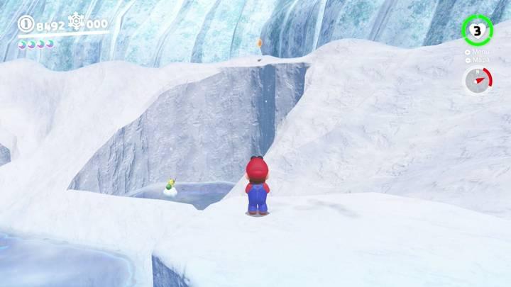 Energiluna 39 Reino del Hielo Super Mario Odyssey