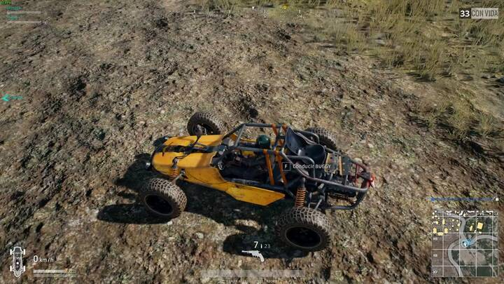 Buggy o Jeep Playerunknown's Battlegrounds