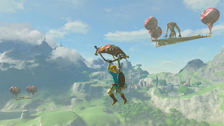 Modo experto de Zelda Breath of the Wild