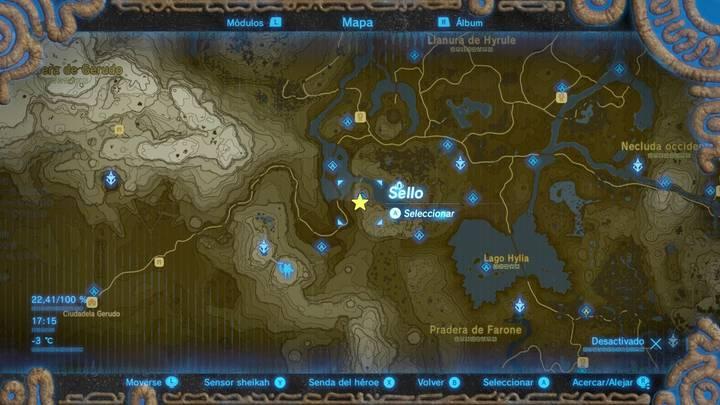Cofre 1 expansión Zelda: Breath of the Wild