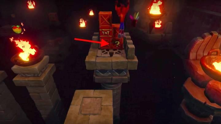 Segundo nivel secreto Crash Bandicoot Cabeza 2