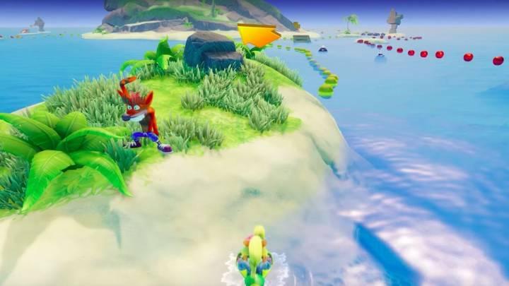 Fake Crash en Crash Bandicoot 3 Makin' Waves