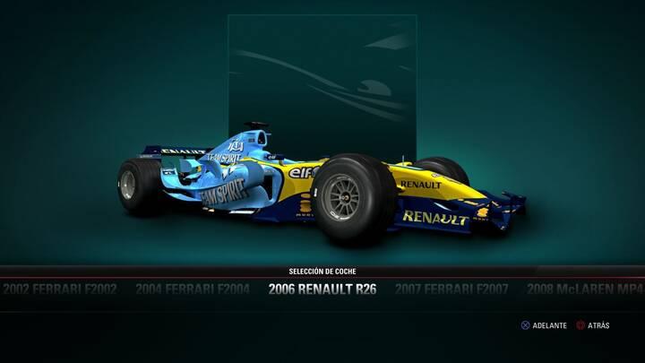 F1 2017 Renault R26 de 2006