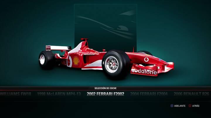F1 2017 Ferrari F2002 de 2002
