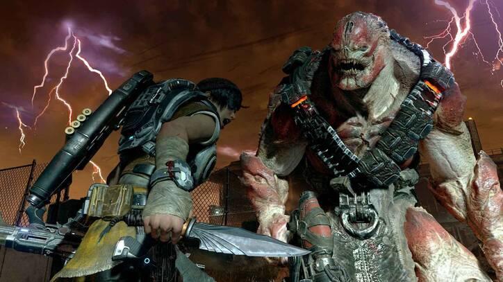 Gears of War 4 en Xbox One X