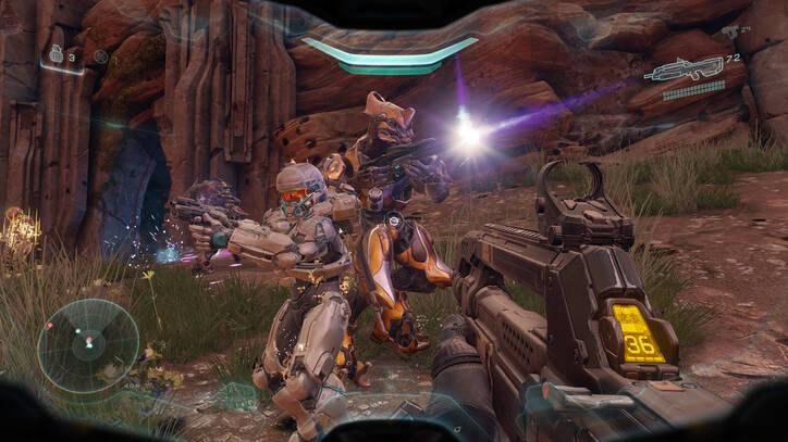 Halo Guardians en Xbox one X