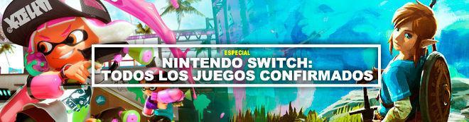 Nintendo Switch: Todos los juegos confirmados