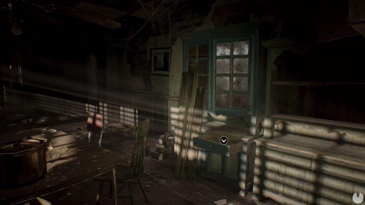 Moneda 1 dificultad manicomio Resident Evil 7