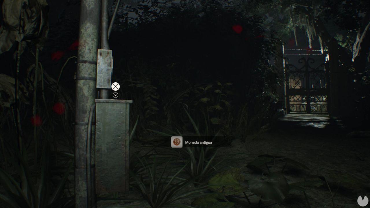 Moneda 16 dificultad manicomio Resident Evil 7