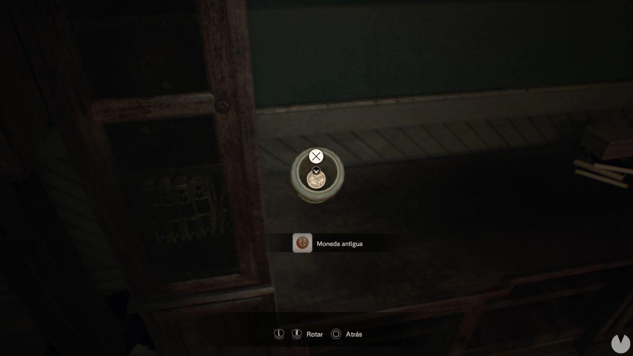Moneda 2 dificultad manicomio Resident Evil 7