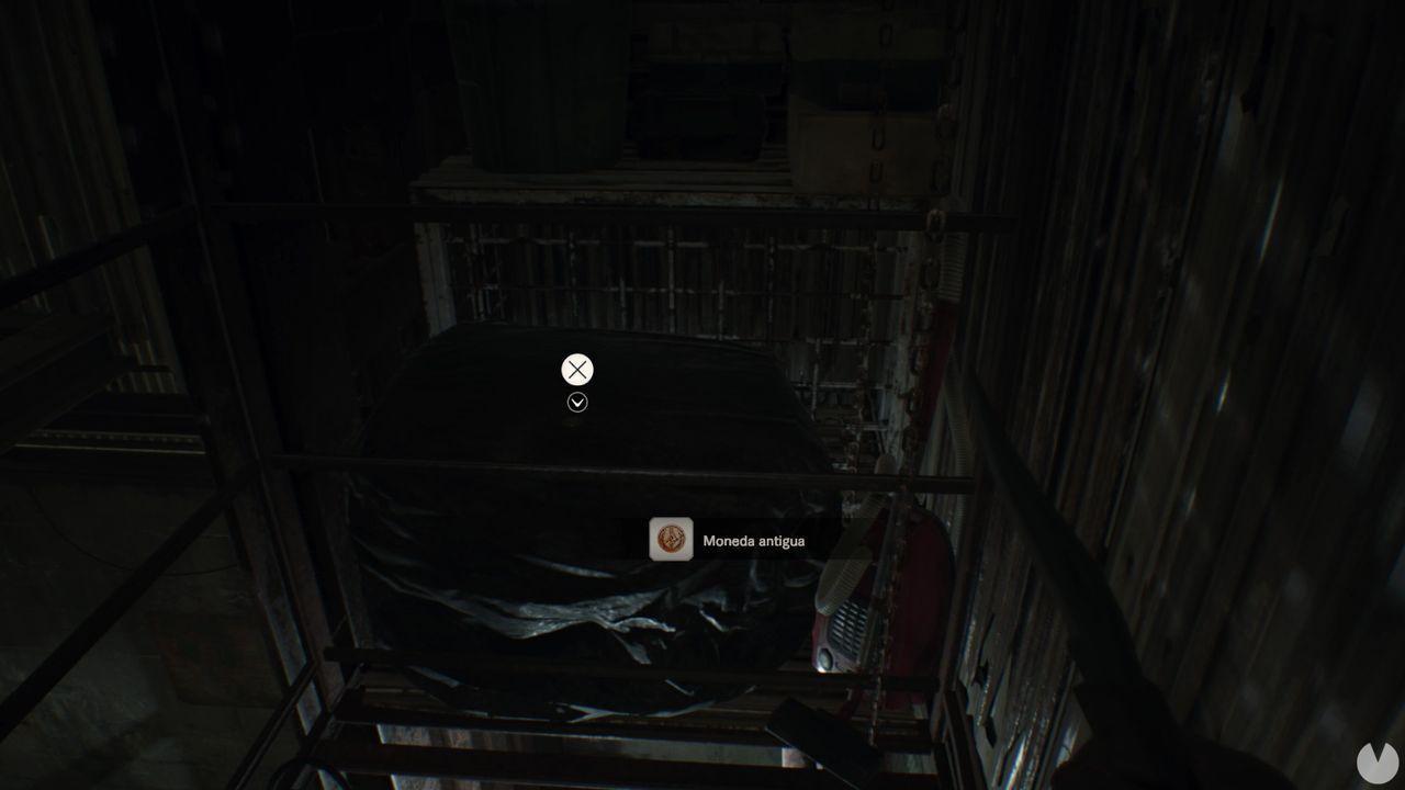 Moneda 3 dificultad manicomio Resident Evil 7