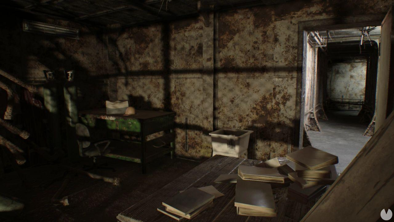 Moneda 32 dificultad manicomio Resident Evil 7