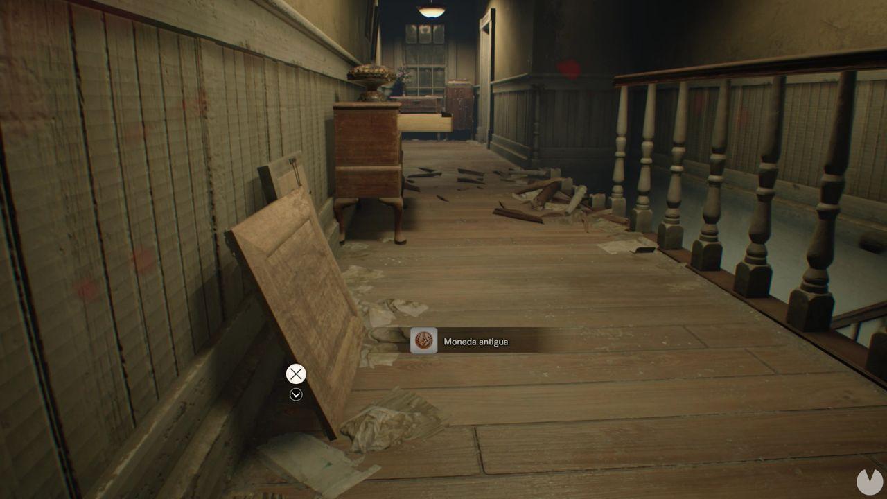Moneda 6 dificultad manicomio Resident Evil 7