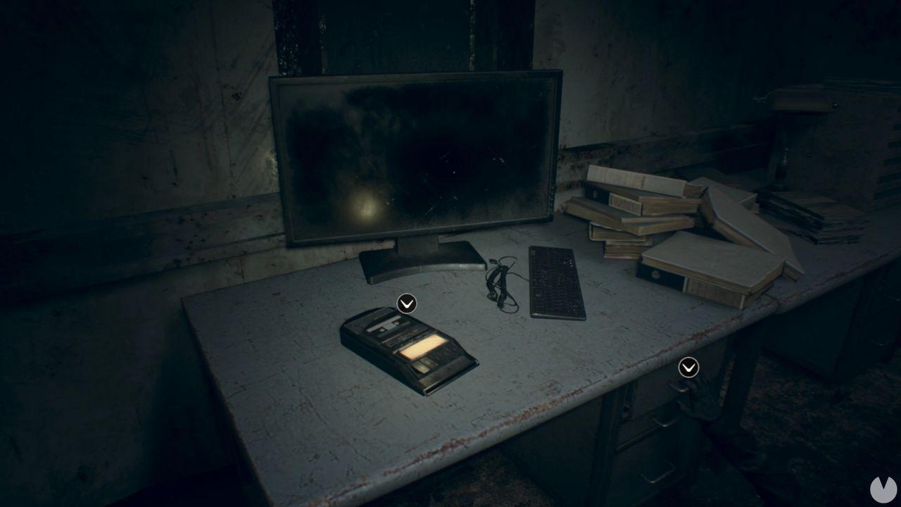 Grabadora Resident Evil 7