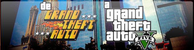 De Grand Theft Auto a GTA V