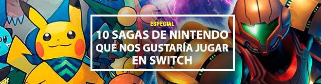 10 sagas de Nintendo que nos gustaría jugar en Switch