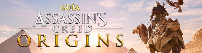Guía Assassin's Creed Origins, trucos y consejos