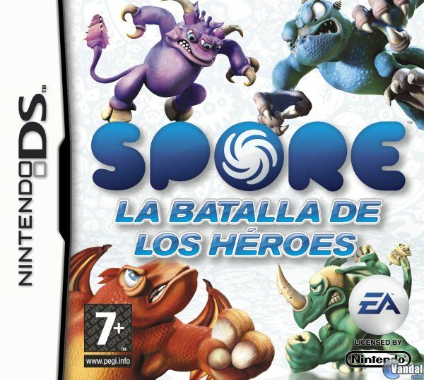 Car�tula Spore: Hero Arena Nintendo DS