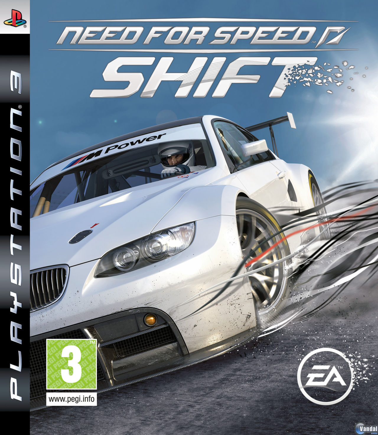 Cartula Need for Speed Shift PlayStation 3