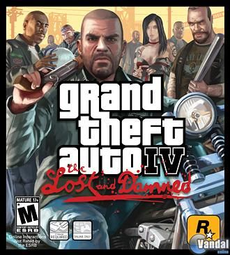 Car�tula Grand Theft Auto IV: The Lost and the Damned Xbox 360