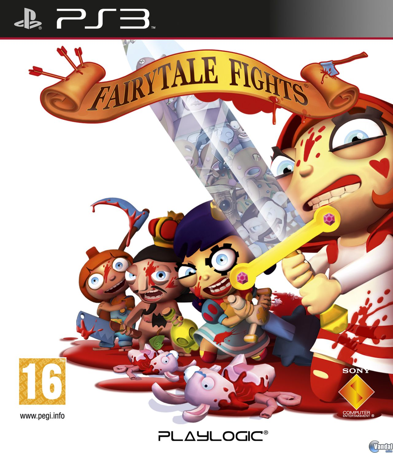 Car�tula Fairytale Fights PlayStation 3