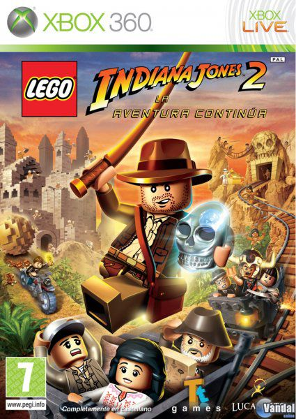 Car�tula LEGO Indiana Jones 2 Xbox 360