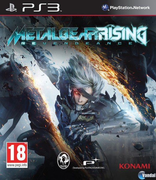 Car�tula Metal Gear Rising: Revengeance Xbox 360