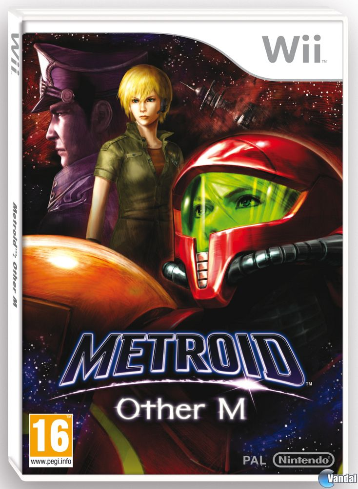 Cartula Metroid: Other M Wii