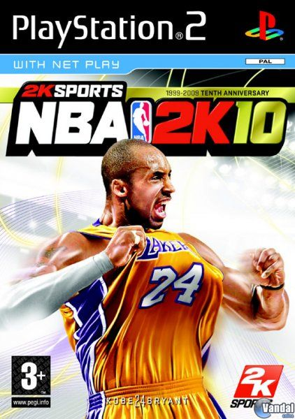 Car�tula NBA 2K10 PlayStation 2