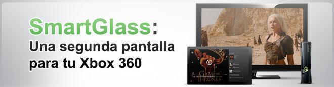 SmartGlass: Una segunda pantalla para tu Xbox 360