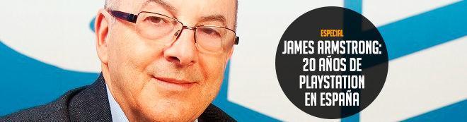 James Armstrong: 20 años de PlayStation en España